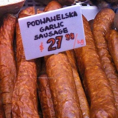 Podwawelska Garlic Sausage